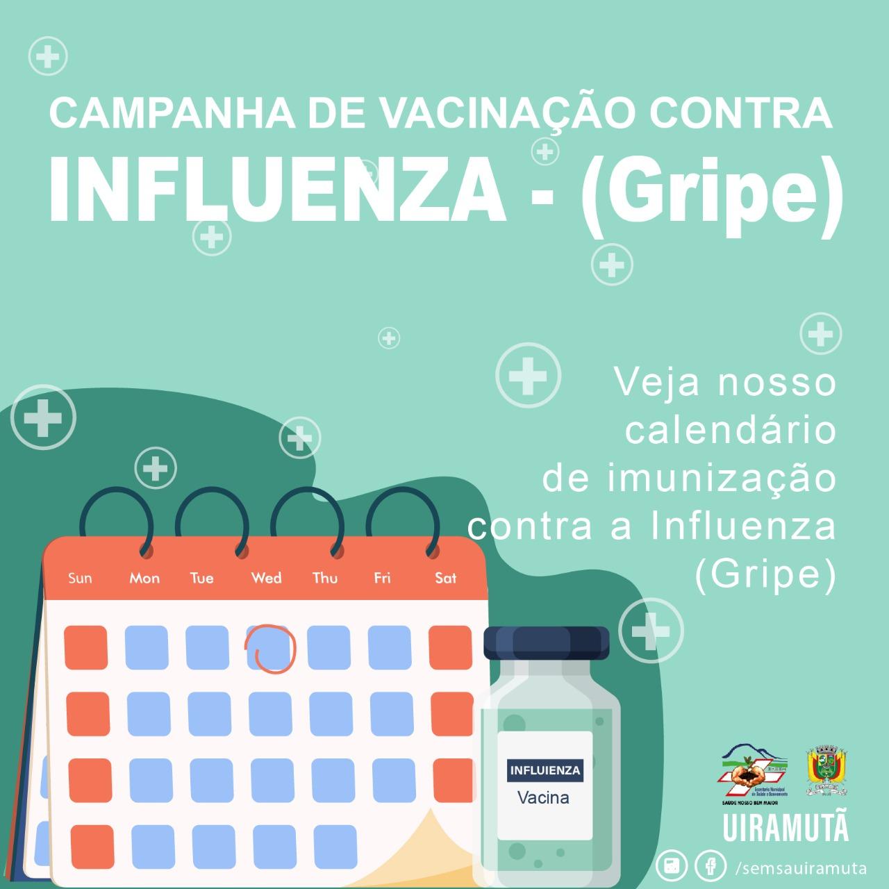 Campanha de Vacinação contra a Influenza (vírus da gripe)